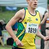 Favoriet Stijne Baeten van Atletiek Bonheiden op de 1.500 M - Kampioenschap van Vlaanderen - Beveren-Waas - Oost-Vlaanderen
