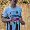Kevin Brysbaert van FLAC Hoppeland - Kerstcorrida - Langemark - West-Vlaanderen