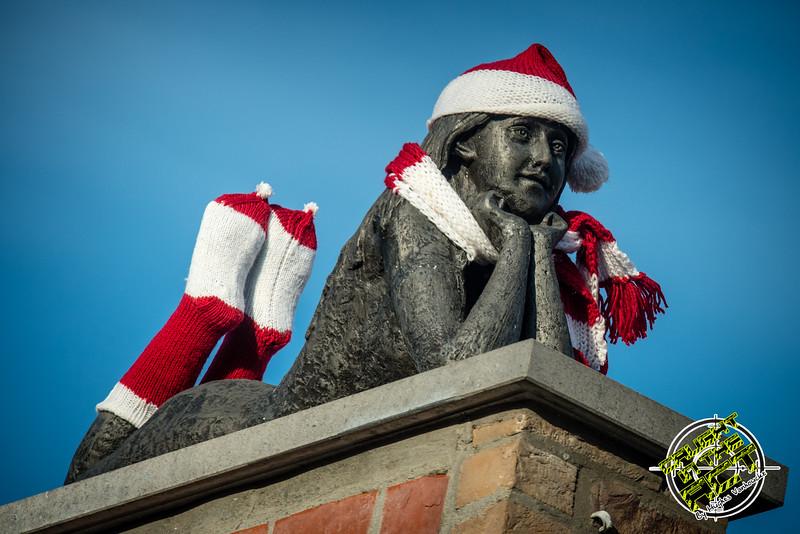 Toeschouwster - Kerstcorrida - Langemark - West-Vlaanderen