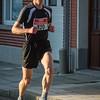 Joris Moeyaert uit Langemark loopt in vierde positie op het slot van de eerste ronde - Kerstcorrida - Langemark - West-Vlaanderen