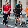 Vlnrl Filip Verhaeghe uit Geluwe, Gérard Vandenbroucke uit Komen/Comines, Filip Vandorpe uit Roeselare en Joost Busschaert uit Zarren - Kerstcorrida - Langemark - West-Vlaanderen