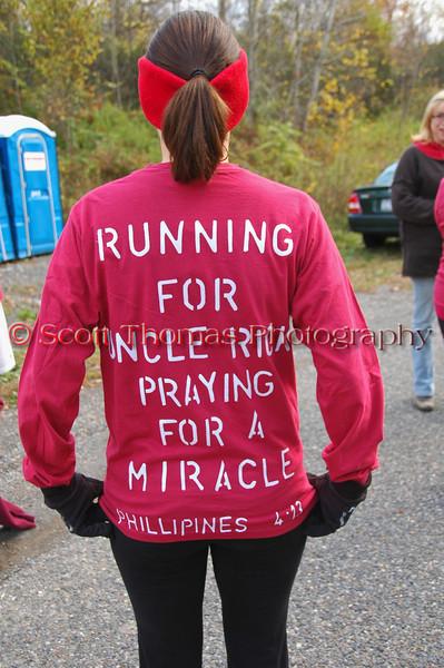 5K Walk/Run at the LaFayette Apple Run on Sunday, October 11, 2009.