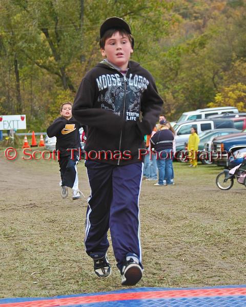 One Mile Fun Run at the LaFayette Apple Run on Sunday, October 11, 2009.