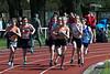 Start van de 1.000 M bij de meisjes cadetten<br /> Memorial Guy Dorchain - Wembley sportcomplex - Heule/Kortrijk<br /> Zaterdag 20 april 2013