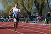 Tine Gellynck op de 100 M dames<br /> Memorial Guy Dorchain - Wembley sportcomplex - Heule/Kortrijk<br /> Zaterdag 20 april 2013