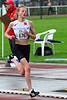 Lore Quatacker net voor haar aankomst op de 1.000 M Cadetten Meisjes - Sportcomplex Wembley - Kortrijk - België