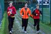 Opwarming van de FLAC Ieper boys Yngwie Vanhoucke (Junior), Jonas Tiersen (Senior) & Feinse Quatacker (Scholier) - Sportcomplex Wembley - Kortrijk - België