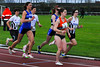 An Devos & Evelyne Delva na 200 M op de 1.000 M Dames - Sportcomplex Wembley - Kortrijk - België
