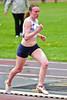 Emilie Bruynooghe (FLAC Izegem) net vóór aankomst van de 1.000 Scholieren Dames - Sportcomplex Wembley - Kortrijk - België
