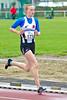 Annouk Dedeyne tijdens haar laatste hectometer op de 1.000 M Cadetten Meisjes - Sportcomplex Wembley - Kortrijk - België