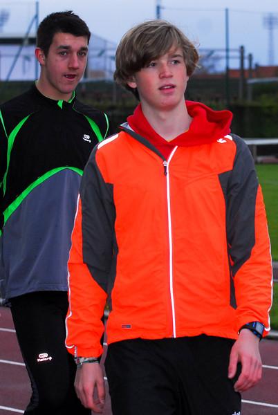 Flac Juniores Jonas Van Melkebeke & Yngwie Vanhoucke - Sportcomplex Wembley - Kortrijk - België
