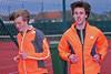 Junior Yngwie Vanhoucke & Senior Jonas Tiersen (FLAC Ieper) - Sportcomplex Wembley - Kortrijk - België
