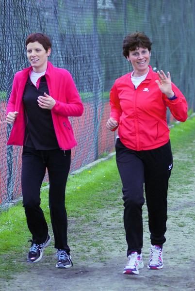Flac Ieper dames Evelyne & An - Sportcomplex Wembley - Kortrijk - België