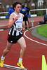 Laastste 150 M voor Jonas Tiersen (FLAC Ieper) op de 1.000 M JSM - Sportcomplex Wembley - Kortrijk - België