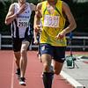 Winst voor de atleet uit Frans Guyana Yehudi Tingo-Farine voor Falco Defour op de 800 M voor jongens Scholieren - Memorial Leon Denys - Atletiekpiste Izegem - West-Vlaanderen