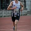 Lukas Outtier op de 3.000 M - Memorial Leon Denys - Atletiekpiste Izegem - West-Vlaanderen