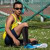 Yehudi Tingo-Farine uit Frans Guyana - Memorial Leon Denys - Atletiekpiste Izegem - West-Vlaanderen