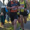 Achtervolgers Thomas Callewaert (# 505) & Karel Moerman (# 433)