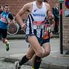 David Vandenabeele van FLAC Hoppeland - Milcobel Run 2014 - Langemark - West-Vlaanderen