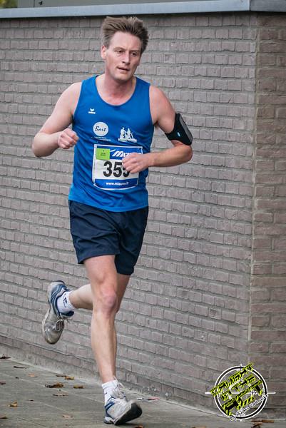 Peter Deleu uit Wielsbeke - Milcobel Run 2014 - Langemark - West-Vlaanderen