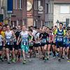 Start van de 3,5 km - Milcobel Run 2014 - Langemark - West-Vlaanderen