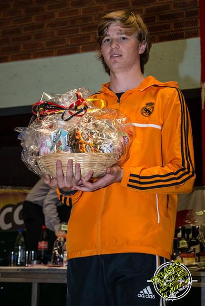 Derde plaats voor Yngwie Vanhoucke uit Menen - Milcobel Run 2014 - Langemark - West-Vlaanderen