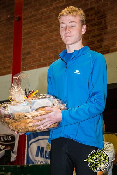Tweede plaats voor Jonathan Goudeseune uit Ieper - Milcobel Run 2014 - Langemark - West-Vlaanderen