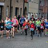 Alvast een jonge opkomst - Milcobel Run - Langemark - West-Vlaanderen