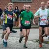 Delegatie uit Wervik met Franky Ghesquière (# 511) & Dirk Koopman (#421) - Milcobel Run 2014 - Langemark - West-Vlaanderen