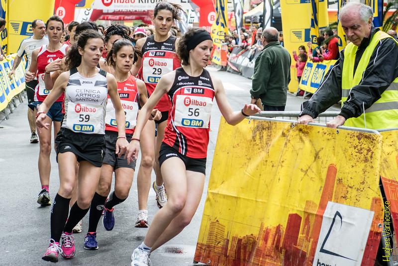 Onditz ITURBEARGINZONIZ (56), Raquel Lopez Garcia (59) & Eider Ares Ibáñez (29) en la Abierta Femenina