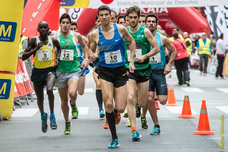 Elite: Dickson Huru (5), Diego Cuadrado Pigueiras (12), Adel Mechaall (10), Francisco Javier Abad Sebastian (9) &  Kevin Lopez Yerga (1)