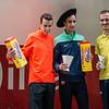 Podio Elite Masculino: Victor Garcia Laseca, Manuel Olmedo (Campeón de España 1.500 M en Pista Cubierta - Andalucía) & Antonio Abadia