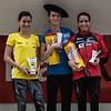 Podio Elite Femenina: Isabel Macías Chow, Blanca Fernández de la Granja (León) & Lidia Rodriguez Sierra (Cataluña)