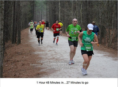 Tobacco Road Half Marathon, 2012