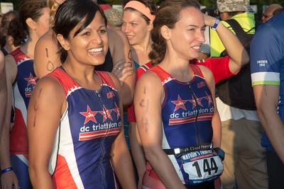 Pinky Patel (#161 Washington D.C.) and Laura Lorenzo (#144 Washington D.C.)