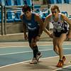Start van de 2de reeks 800 M met Maxime Michel & Lars Oosterlinck - 800 M - Open Belgisch Studenten Kampioenschap - BLOSO Topsporthal - Gent