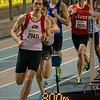 """Eerste ronde in 27"""" - 800 M - Open Belgisch Studenten Kampioenschap - BLOSO Topsporthal - Gent"""