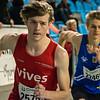 Yngwie Vanhoucke & Viktor Benschop - 800 M - Open Belgisch Studenten Kampioenschap - BLOSO Topsporthal - Gent