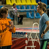 Brons en goud in gesprek - 800 M - Open Belgisch Studenten Kampioenschap - BLOSO Topsporthal - Gent