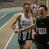 Mooie tweede plaats voor Koen De Ridder na Jason Vleminckx - 800 M - Open Belgisch Studenten Kampioenschap - BLOSO Topsporthal - Gent