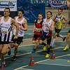 Posities na iets meer dan 200 M - 800 M - Open Belgisch Studenten Kampioenschap - BLOSO Topsporthal - Gent