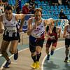 Start van de derde reeks 800 M met uiterst links Koen De Ridder van FLAC Ieper - 800 M - Open Belgisch Studenten Kampioenschap - BLOSO Topsporthal - Gent