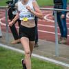 Morena Vanhoorne werd derde bij de meisjes miniemen
