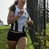 Enige deelneemster aan de Korte Cross bij de dames: Ella Vanpoucke