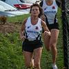 Christine Lefever & Ella Vanpoucke op het einde van hun tweede ronde