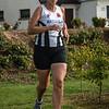 Chantal Mulleman uit Ieper op het einde van ronde 2