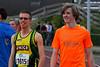 Enige twee West-Vlaamse atleten op Oost-Vlaamse grond - Open Meeting AC Lebbeke - Lebbeke - Oost-Vlaanderen