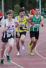 Atleet Joris De Schepper (ACW - 1555) wordt grootste belager Yngwie - Open Meeting AC Lebbeke - Lebbeke - Oost-Vlaanderen