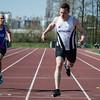 Michaël Querton (ACLE) & Rinus Staessen (FLAC Izegem) - 200 M - Open Meeting - VITA Ninove - Oost-Vlaanderen