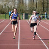 Maaike Deplorez (ZA), Eline Claeys (ATLA), Céline Delheye (FLAC Izegem) & Anaelle Boutry (ACLE) - 200 M - Open Meeting - VITA Ninove - Oost-Vlaanderen